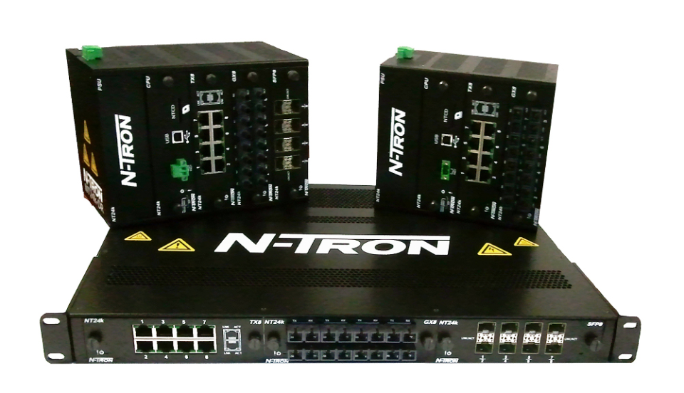 N-Tron NT24k Series Managed Gigabit Ethernet Switches