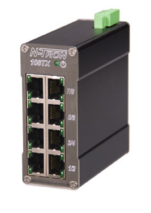 108TX-HV N-Tron High Voltage Industrial Ethernet Switch 8 Port Unmanaged